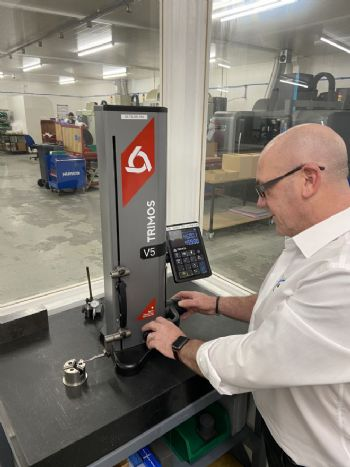 Ensuring quality parts with a Trimos Height Gauge
