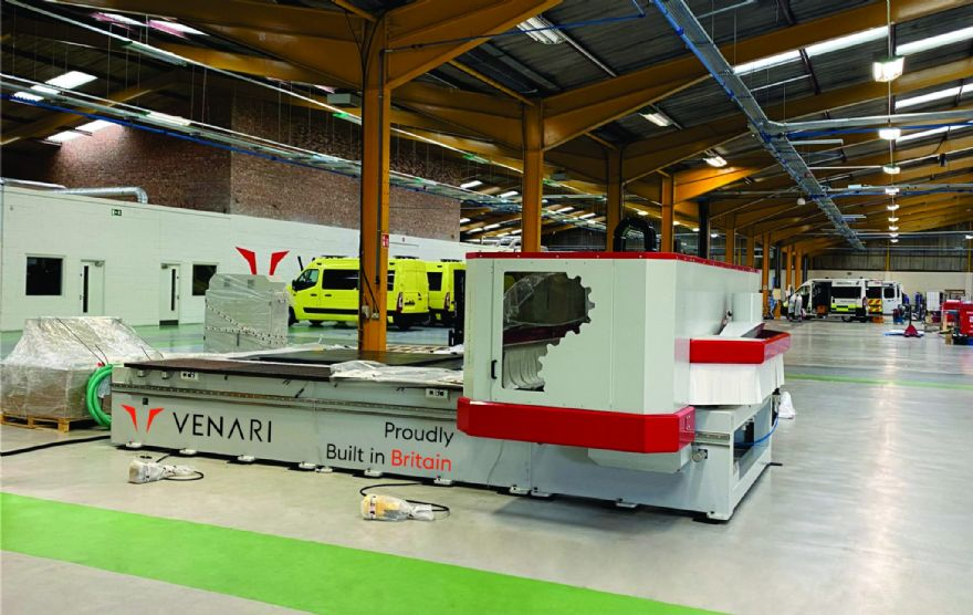 Venari Group invests in new machinery