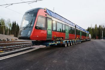 Finland receives first ForCity Smart Artic tram