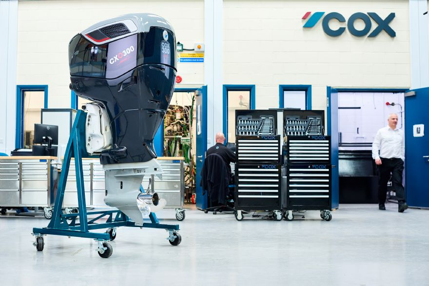 Production of new diesel outboard engine begins