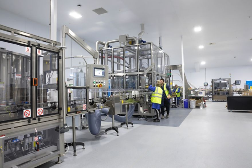 Thornton & Ross unveils new production line