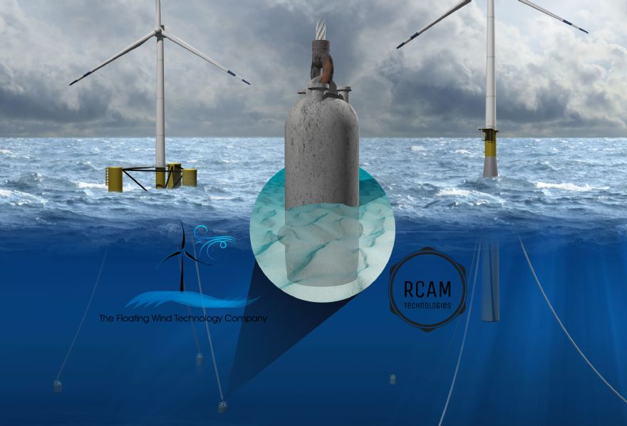 3-D printed concrete for offshore wind farms