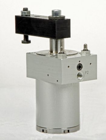 Fail-safe pneumatic swing clamps introduced
