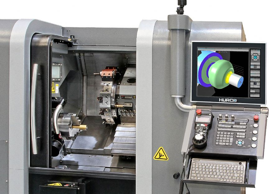 Hurco introduces a trio of new driven-tool lathes