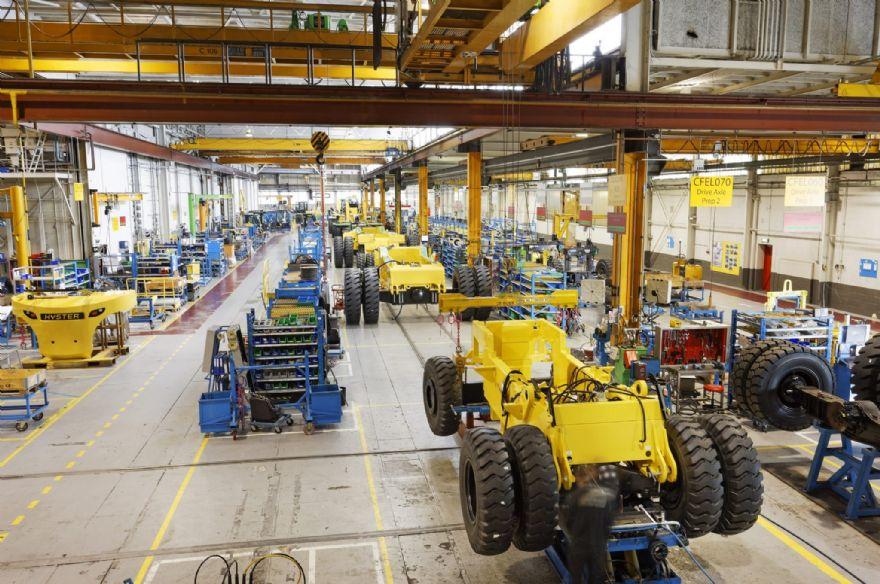 Hyster factories resume production