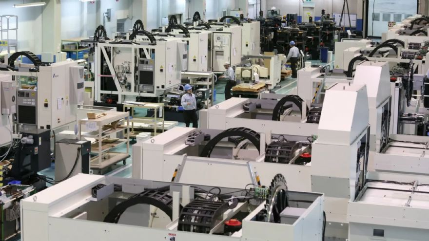 Latest data for the Japanese machine tool industry