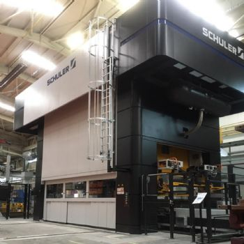 First Schuler servo transfer press for Turkey