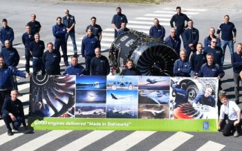 Rolls-Royce delivers 8,000th engine from Dahlewitz