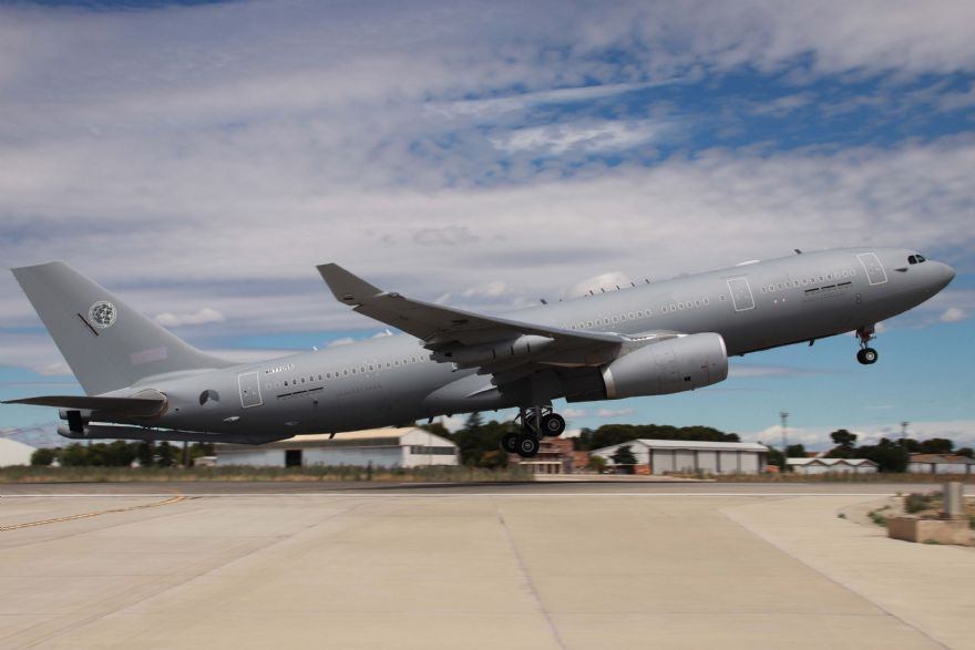 Airbus delivers first A330 MRTT to NATO