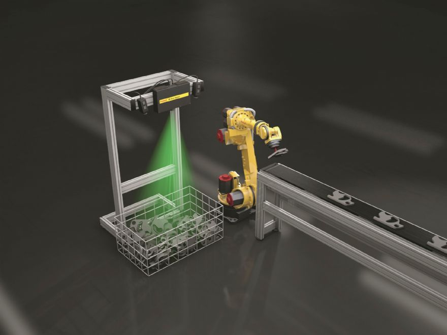 Fanuc launches new 3-D Vision Sensor