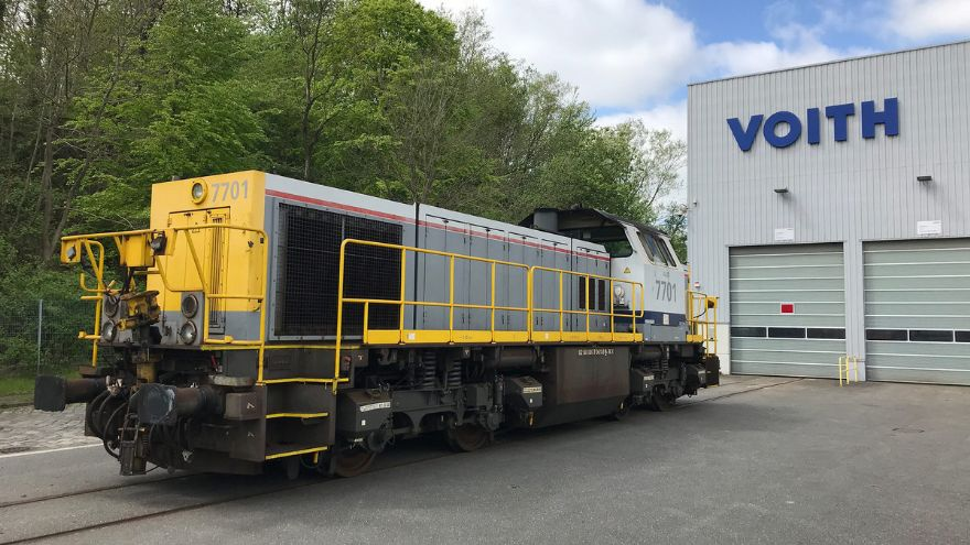 Major locomotive overhaul contract