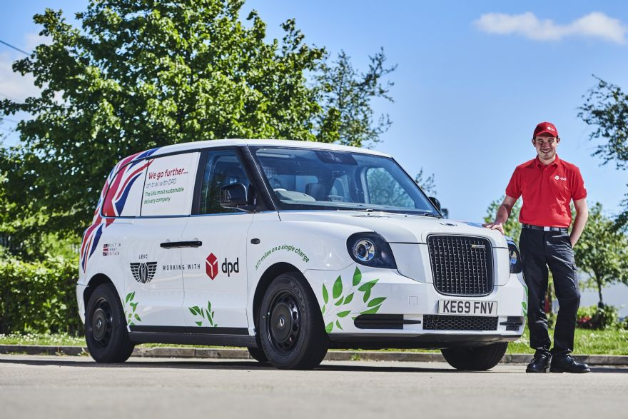 LEVC begins fleet trials of new electric van