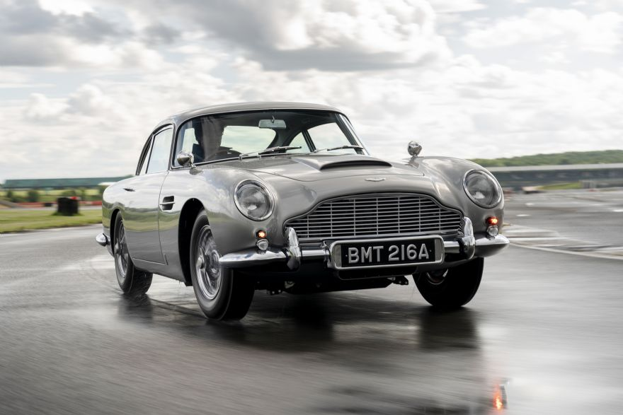 First DB5 Goldfinger Continuation car completed