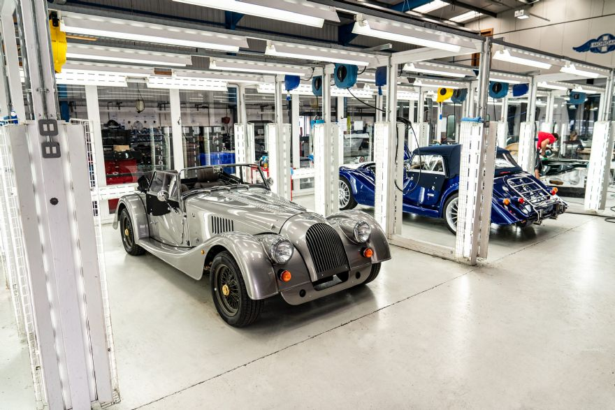 Morgan bids farewell to 84-year-old steel chassis