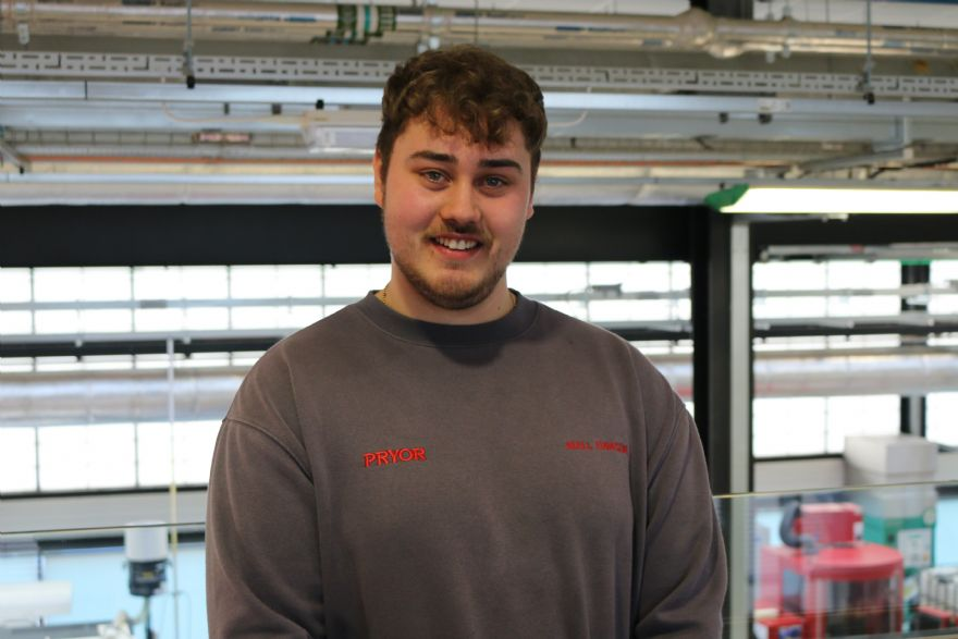 Apprentice makes mark with £50,000-a-year savings