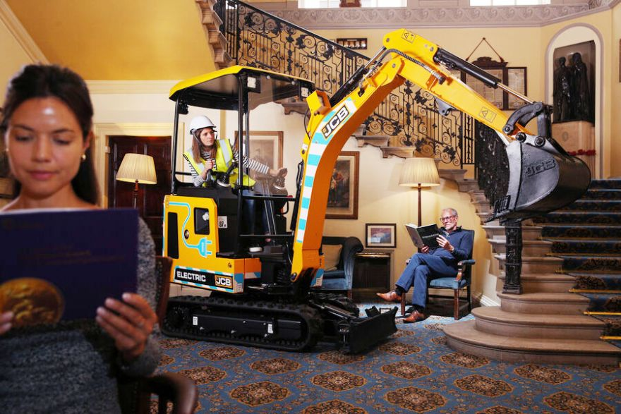 Electric digger 'quietly' wins MacRobert Award