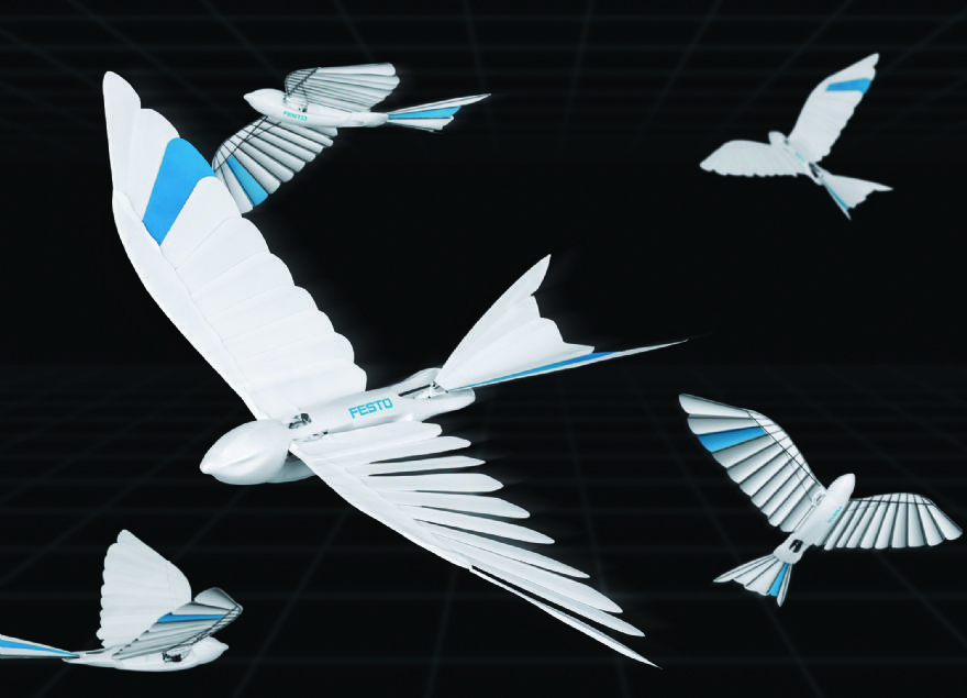 Festo offers 'swift lessons' in lightweight design