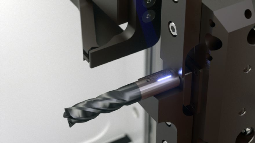 Automatic cleaning and laser marking