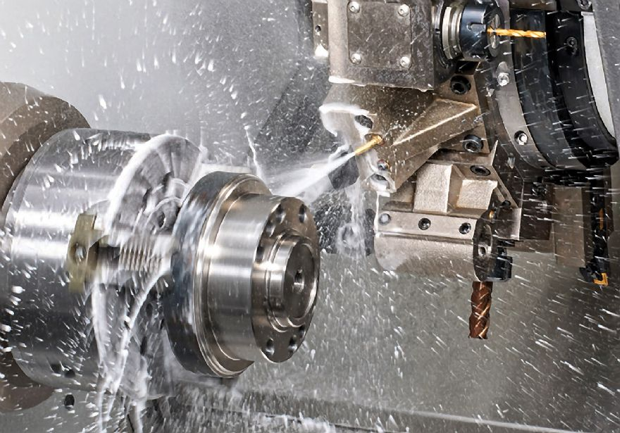 Fixed-head turn milling at CTPE