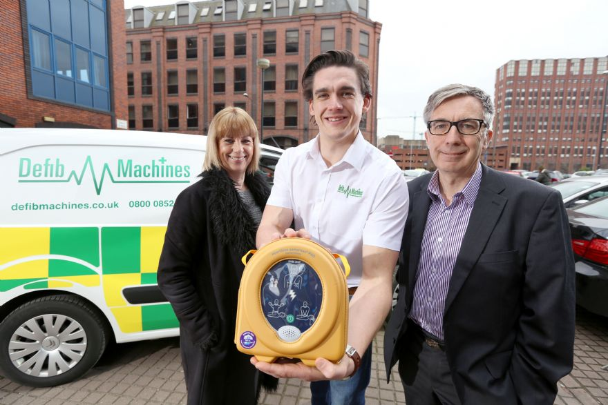 Defibrillator supplier expands with NPIF funding