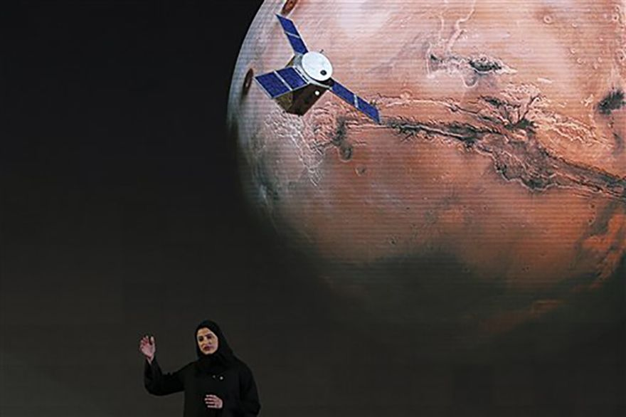 UAE's Hope spacecraft heads for the Red Planet