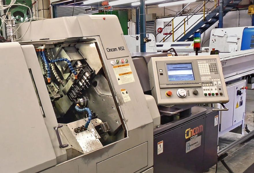 Citizen fully supports used sliding-head lathe