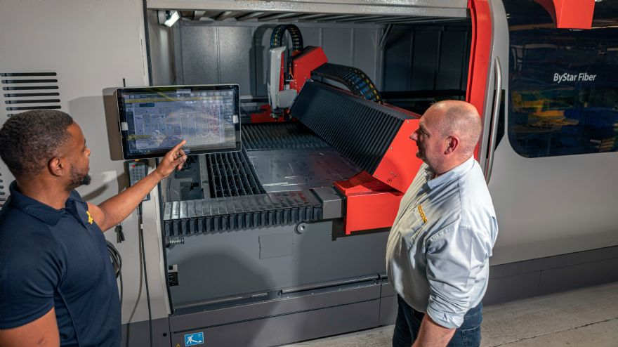 Econ's new £850,000 laser cutter pays dividends