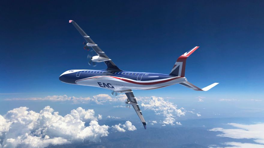 UK hybrid electric 70+ seater aircraft unveiled