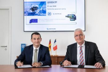 Partnership to offer European turboprop engine