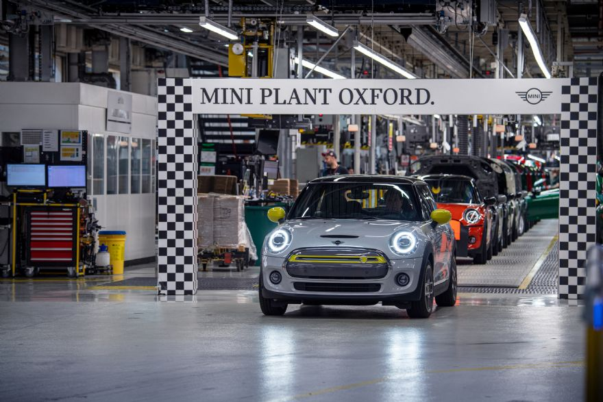 Mini Electric hits production milestone