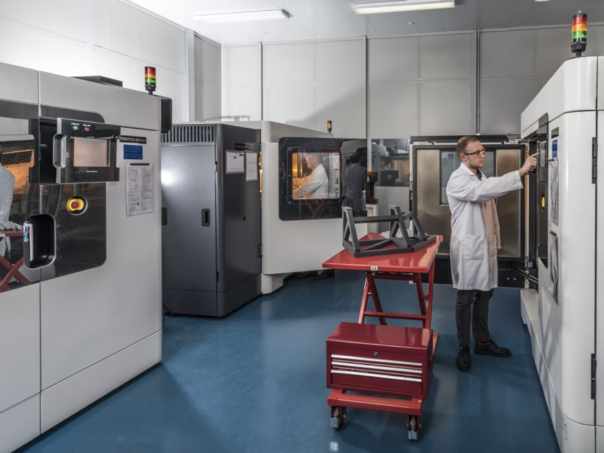 Fourth Stratasys F900 3-D printer for BAE Systems