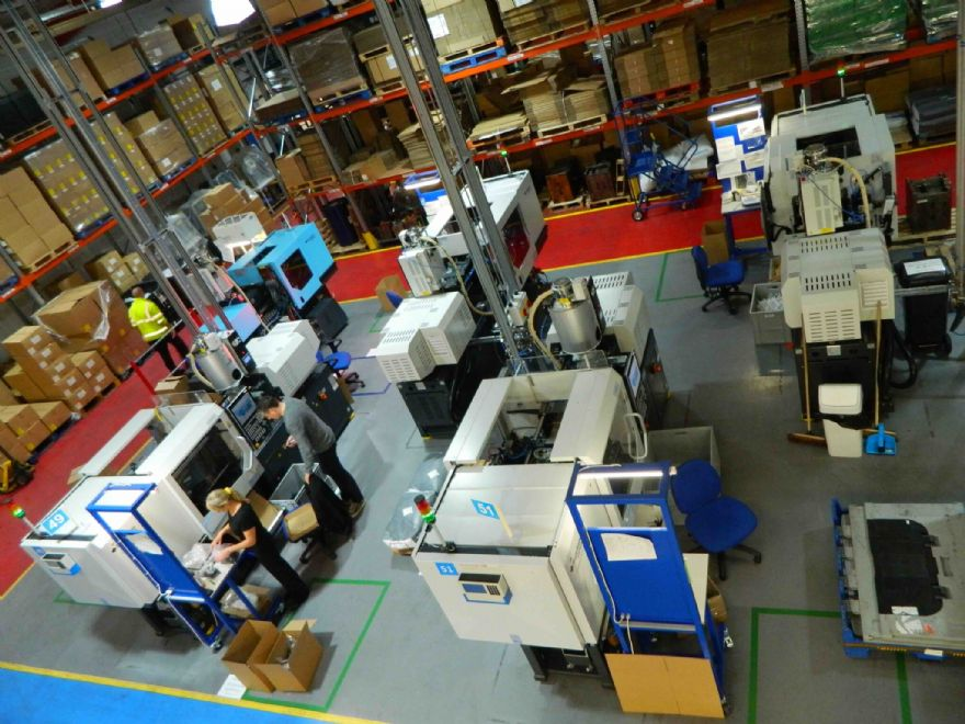 New moulding machines help meet Covid-19 demand