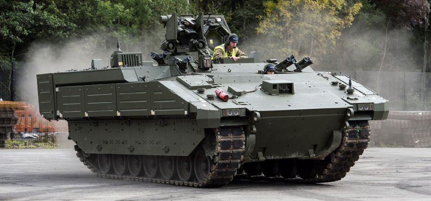 Ares armoured vehicles delivered to British Army