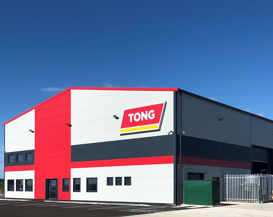 New Tong factory opens in Lincolnshire
