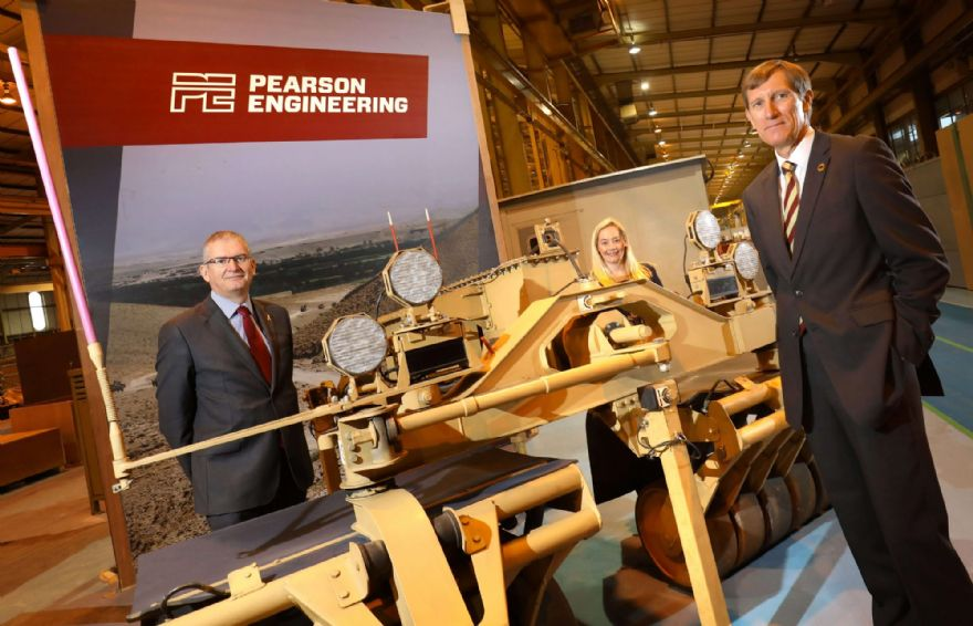 Engineering firm sets gold standard for veterans