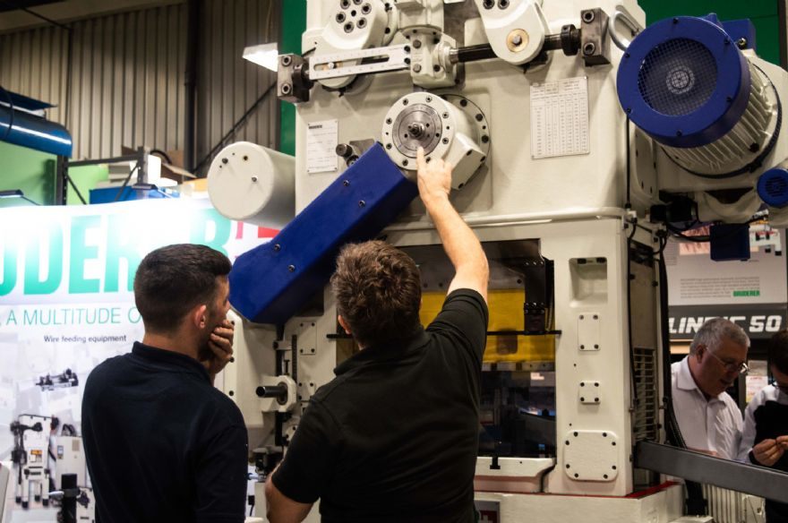 Bruderer press boosts production output by 400%