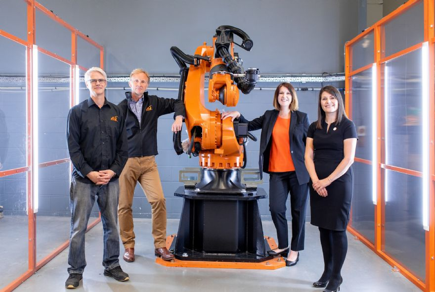 Robotics firm expands and recruits new staff
