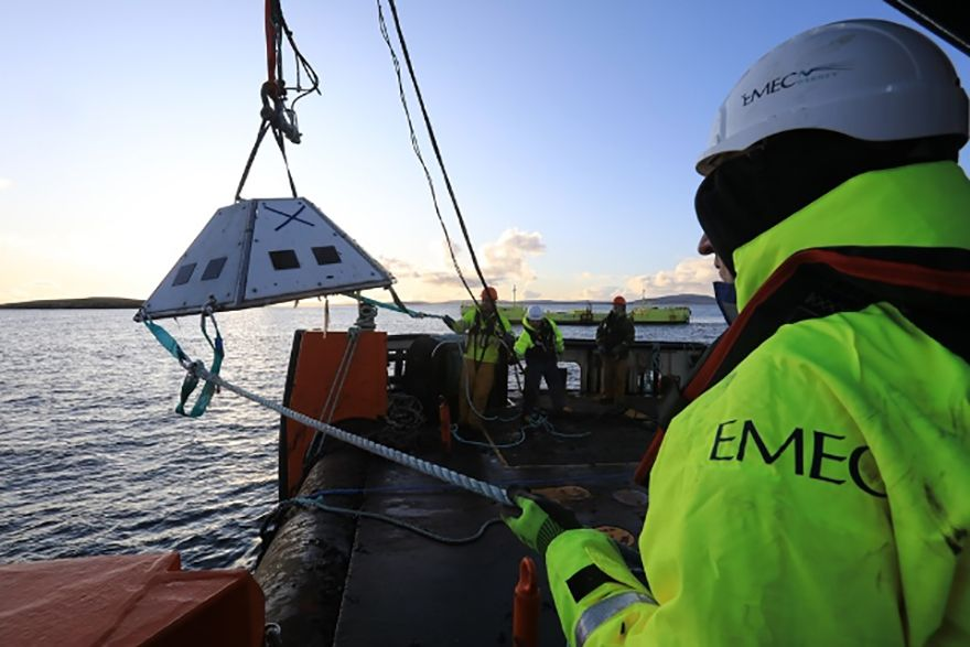 EMEC designated as world's first ocean energy RETL