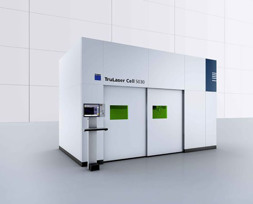 Five-axis laser provides flexibility for GF Laser