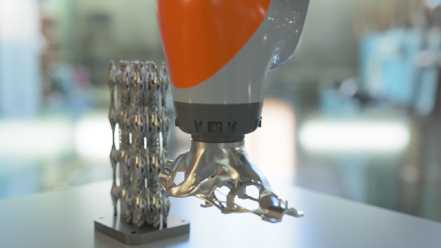 Renishaw in project to automate AM post-processing