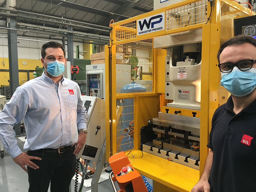 STL invests £100,000 in two new stamping presses