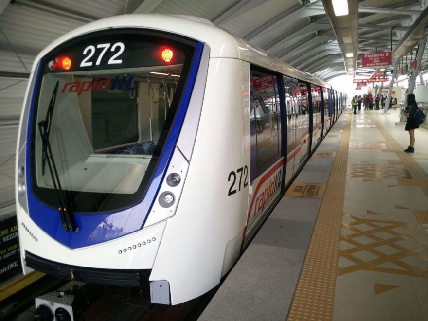 Assembly of metro train for Kula Lumpur completed