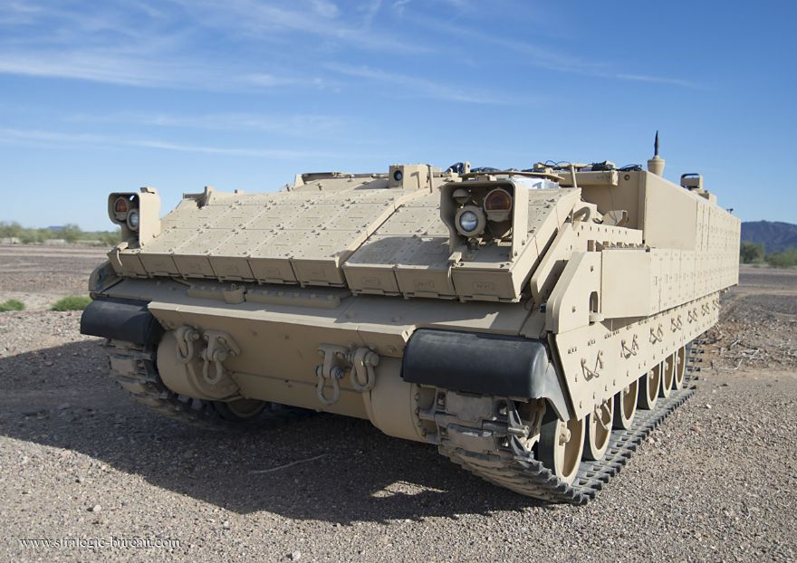 First AMPV rolls off BAE Systems production line