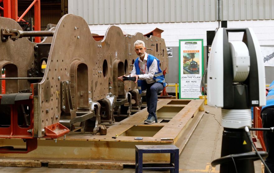 A 'hole lot of trouble' for loco rebuild fixed