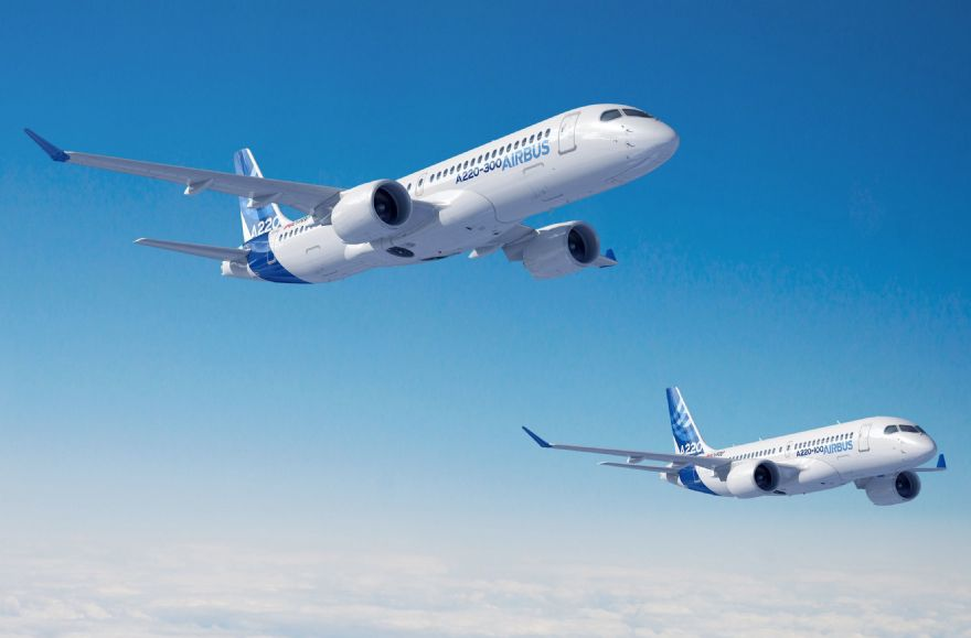 Airbus Canada transfers A220 work to Satair