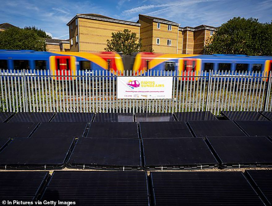 Solar trains pioneer gets first commercial funding