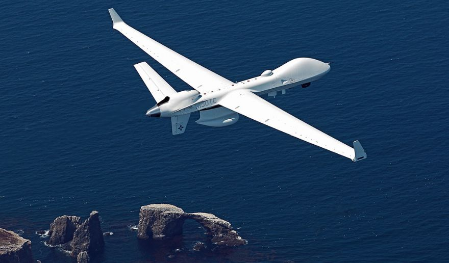 GA-ASI SeaGuardian UAS takes flight