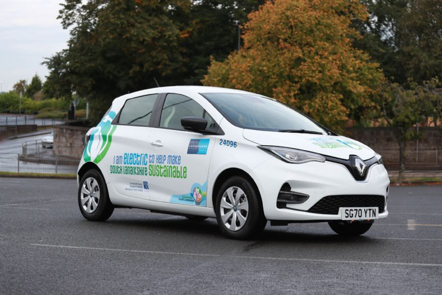 South Lanarkshire Council buys 141 Renault Zoe EVs
