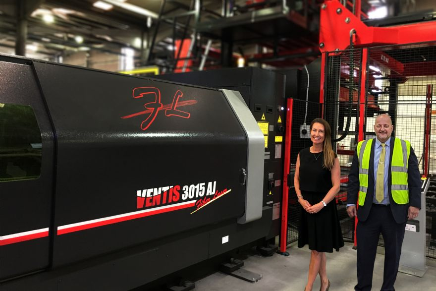 Wrekin Sheet Metal invests in new Amada machines