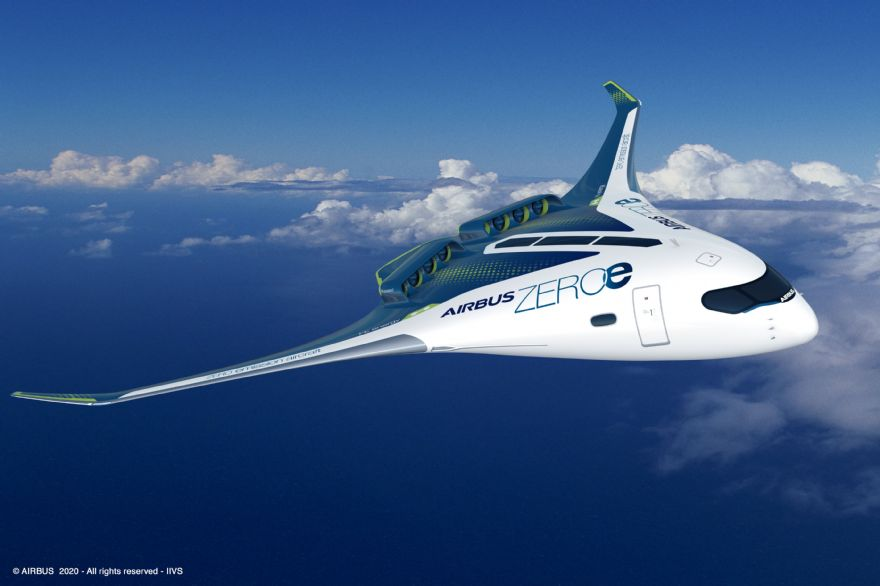 Airbus reveals new zero-emission concept aircraft